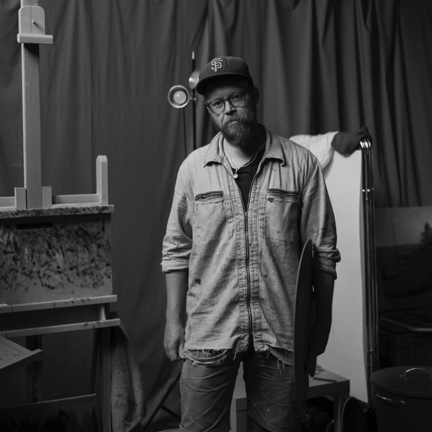 Portrait of Niklas Elgmo © malarky.se